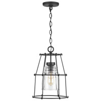 Capital Lighting 929711BK-462 Elijah 1 Light 11 inch Black Outdoor Hanging
