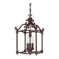 Capital Lighting Chesterfield 3 Light Foyer in Chesterfield Brown 9303CB