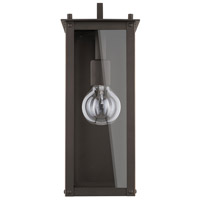 Capital Lighting 934611OZ Hunt 1 Light 15 inch Oiled Bronze Outdoor Wall Lantern