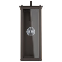 Capital Lighting 934612OZ Hunt 1 Light 21 inch Oiled Bronze Outdoor Wall Lantern
