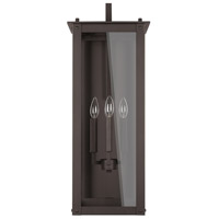 Capital Lighting 934641OZ Hunt 4 Light 29 inch Oiled Bronze Outdoor Wall Mount in Incandescent