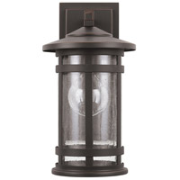 Capital Lighting 935511OZ Mission Hills 1 Light 14 inch Oiled Bronze Outdoor Wall Mount