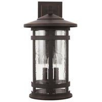 Capital Lighting 935531OZ Mission Hills 3 Light 20 inch Oiled Bronze Outdoor Wall Lantern