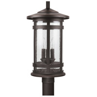 Capital Lighting 935533OZ Mission Hills 3 Light 21 inch Oiled Bronze Outdoor Post Mount