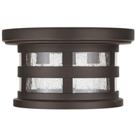 Capital Lighting 935534OZ Mission Hills 3 Light 11 inch Oiled Bronze Outdoor Flush Mount