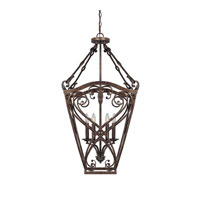 Capital Lighting Reserve 4 Light Foyer in Rustic 9362RT
