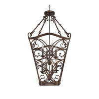Capital Lighting Reserve 6 Light Foyer in Rustic 9363RT