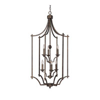 Capital Lighting Towne & Country 6 Light Foyer in Rustic 9373RT photo thumbnail