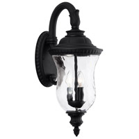 Capital Lighting 939831BK Ashford 3 Light 25 inch Black Outdoor Wall Lantern