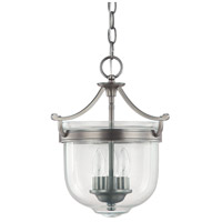 Capital Lighting Covington 3 Light Foyer in Antique Nickel 9411AN