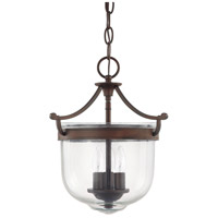 Covington 3 Light 11 inch Burnished Bronze Foyer Ceiling Light