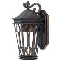 Capital Lighting Townsende 1 Light Outdoor Wall Lantern in Old Bronze 9441OB