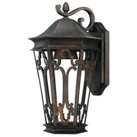 Capital Lighting Townsende 1 Light Outdoor Wall Lantern in Old Bronze 9442OB