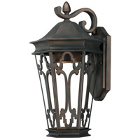 Capital Lighting Townsende 1 Light Outdoor Wall Lantern in Old Bronze 9443OB