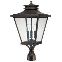 Capital Lighting 9466OB Gentry 3 Light 24 inch Old Bronze Outdoor Post Lantern