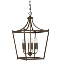 Stanton 6 Light 17 inch Burnished Bronze Foyer Pendant Ceiling Light
