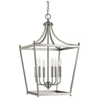 Capital Lighting 9552BN Stanton 6 Light 17 inch Brushed Nickel Foyer Pendant Ceiling Light