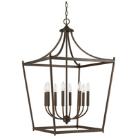 Stanton 8 Light 22 inch Burnished Bronze Foyer Pendant Ceiling Light