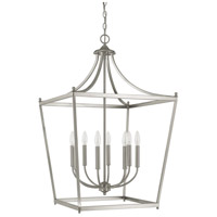 Capital Lighting Stanton 8 Light Foyer Pendant in Brushed Nickel 9553BN