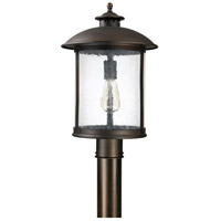 Capital Lighting Dylan 1 Light Outdoor Post Lantern in Old Bronze 9565OB