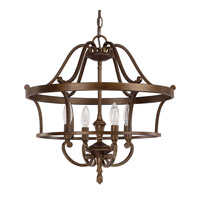 Capital Lighting Claybourne 4 Light Foyer Pendant in Suede 9574SD