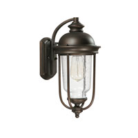 Capital Lighting York 1 Light Outdoor Wall Lantern in Old Bronze 9581OB