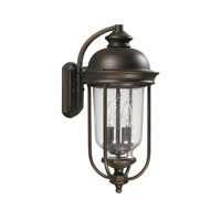 Capital Lighting York 2 Light Outdoor Wall Lantern in Old Bronze 9582OB