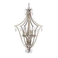Capital Lighting 9592MY-CR Montclaire 6 Light 26 inch Mystic Foyer Pendant Ceiling Light