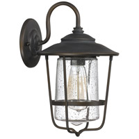 Capital Lighting Creekside 1 Light Outdoor Wall Lantern in Old Bronze 9601OB