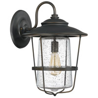 Capital Lighting Creekside 1 Light Outdoor Wall Lantern in Old Bronze 9603OB