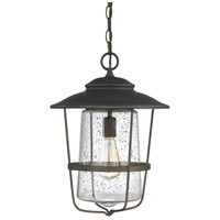 Capital Lighting Creekside 1 Light Outdoor Hanging Lantern in Old Bronze 9604OB