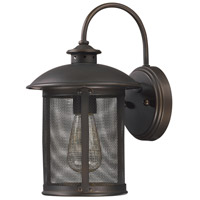 Capital Lighting Dylan 1 Light Outdoor Wall Lantern in Old Bronze 9611OB