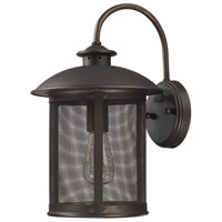 Capital Lighting 9612OB Dylan 1 Light 15 inch Old Bronze Outdoor Wall Mount