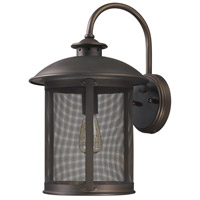 Capital Lighting Dylan 1 Light Outdoor Wall Lantern in Old Bronze 9613OB