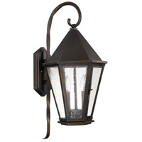 Capital Lighting Spencer 2 Light Outdoor Wall Lantern in Old Bronze 9622OB