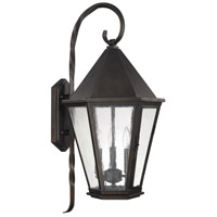 Capital Lighting Spencer 3 Light Outdoor Wall Lantern in Old Bronze 9623OB
