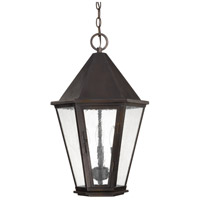 Capital Lighting Spencer 3 Light Outdoor Hanging Lantern in Old Bronze 9624OB