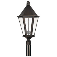 Capital Lighting Spencer 3 Light Outdoor Post Lantern in Old Bronze 9625OB
