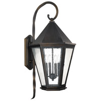 Capital Lighting Spencer 4 Light Outdoor Wall Lantern in Old Bronze 9629OB
