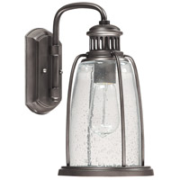 Harbour 1 Light 13 inch Graphite Outdoor Wall Lantern
