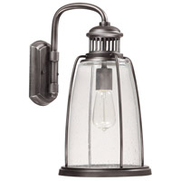 Harbour 1 Light 16 inch Graphite Outdoor Wall Lantern