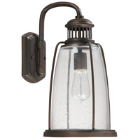Capital Lighting Harbour 1 Light Outdoor Wall Lantern in Old Bronze 9632OB