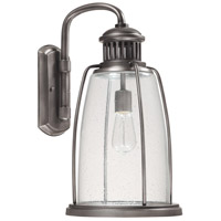 Harbour 1 Light 19 inch Graphite Outdoor Wall Lantern