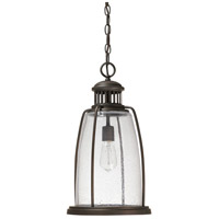 Harbour 1 Light 11 inch Old Bronze Outdoor Hanging Lantern