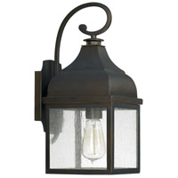 Westridge 1 Light 16 inch Old Bronze Outdoor Wall Lantern
