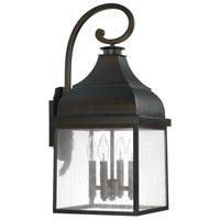 Capital Lighting Westridge 4 Light Outdoor Wall Lantern in Old Bronze 9643OB