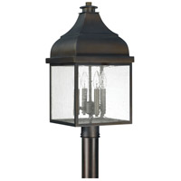 Westridge 4 Light 23 inch Old Bronze Outdoor Post Lantern
