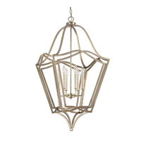 Signature 6 Light 20 inch Winter Gold Foyer Pendant Ceiling Light