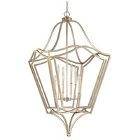 Capital Lighting Creekside 8 Light Foyer Pendant in Winter Gold 9653WG