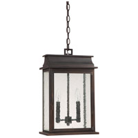 Capital Lighting Bolton 2 Light Outdoor Hanging Lantern in Old Bronze 9666OB